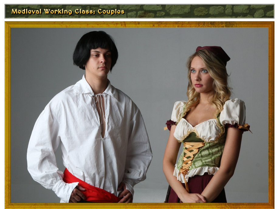 Medieval Working Class Couples Costume Idea