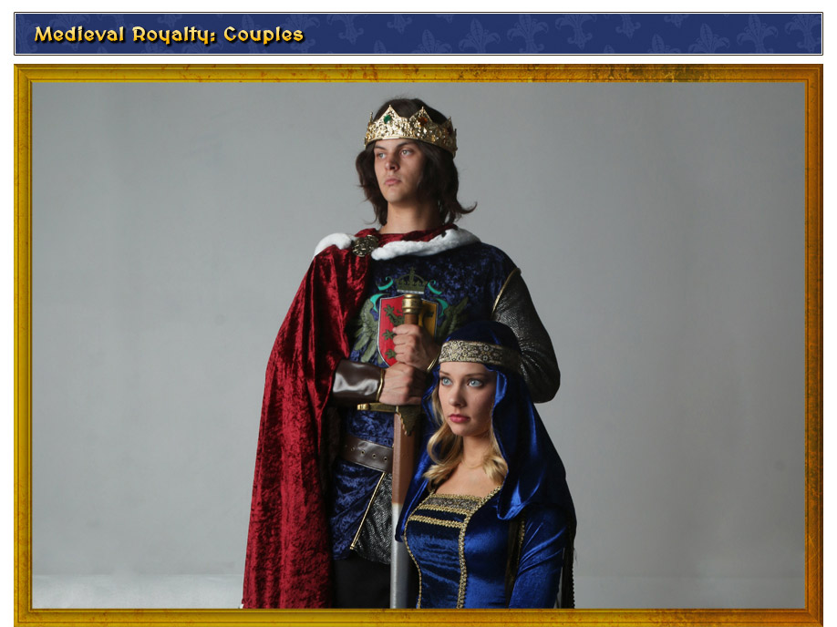 Medieval Royalty Couples Costume Idea
