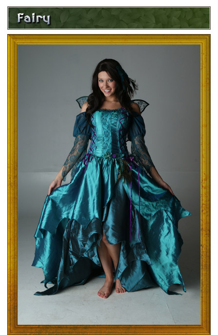 Renaissance Fairy Costume Idea