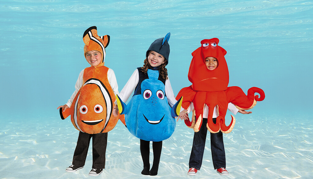 Finding Dory Costumes