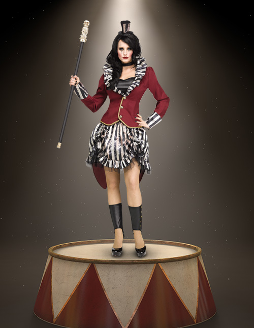 Female Ringmaster Costume