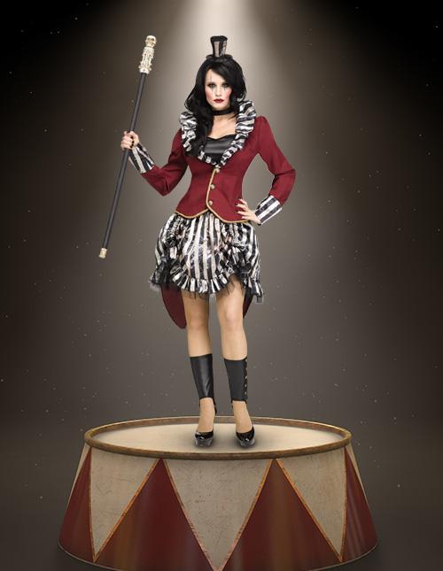 Female Ringmaster Costume