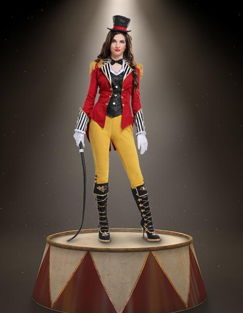 Women's Ringmaster Costume