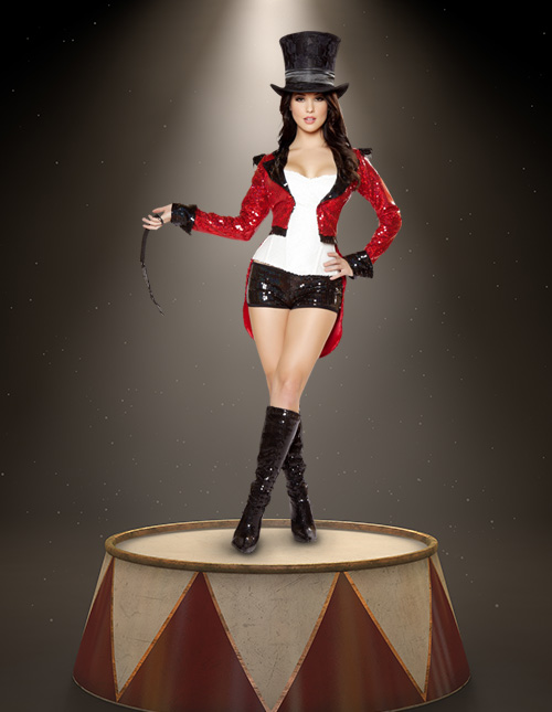 Women's Ringmaster Halloween Costume