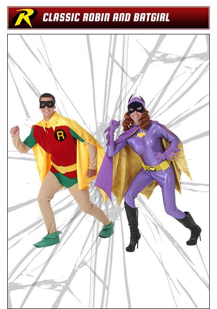 Robin and Batgirl Couples Costume Idea
