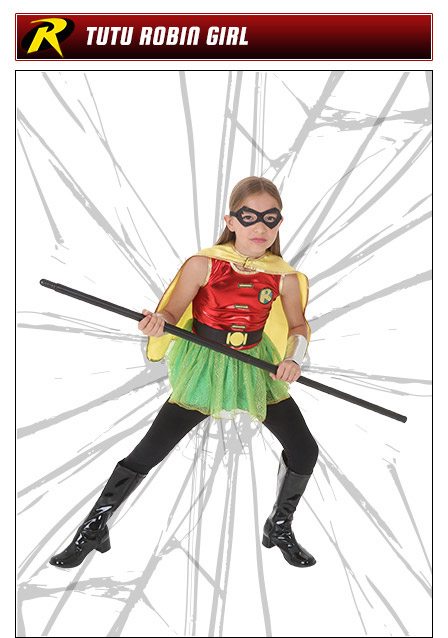 Tutu Robin Girl Costume