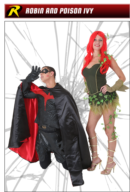 Robin and Poison Ivy Couples Costume Idea