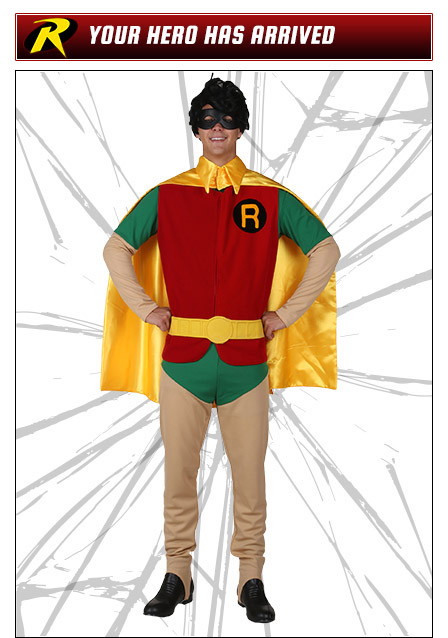 Robin Pose Your Hero Has Arrived