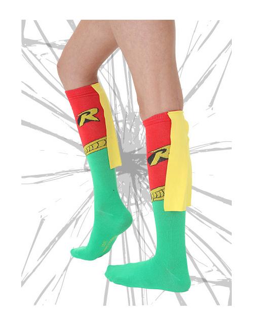 Caped Robin Socks