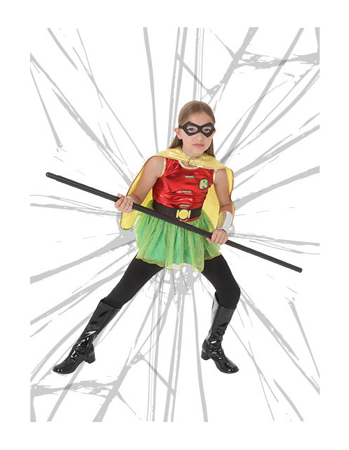 Girls' Robin Costume