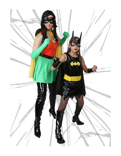 Robin and Batgirl Costumes