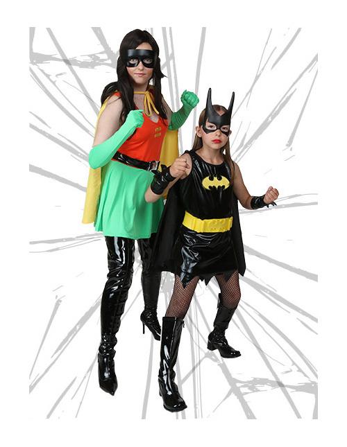 Robin and Batgirl Costumes
