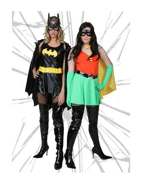 Sexy Robin and Batgirl Costumes