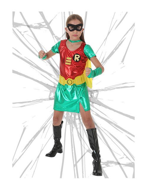 Tween Robin Girl Costume