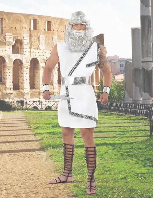 Roman warriors greek goddess costumes halloweencostumes zeus costume solutioingenieria Image collections