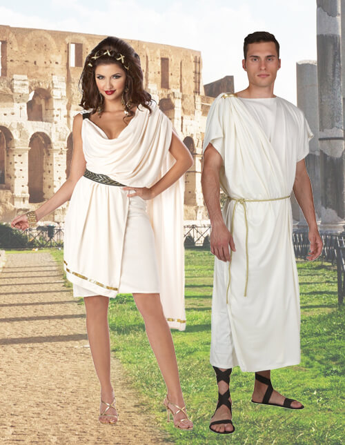 Couples Toga Costumes