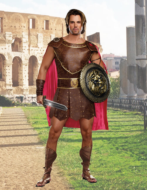 Menu0027s Hercules Costume  sc 1 st  Halloween Costumes & Roman Warriors u0026 Greek Goddess Costumes - HalloweenCostumes.com