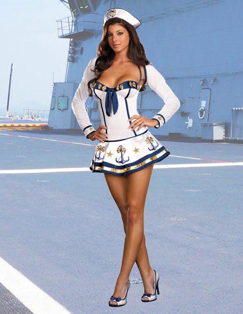 Sexy Navy Costume