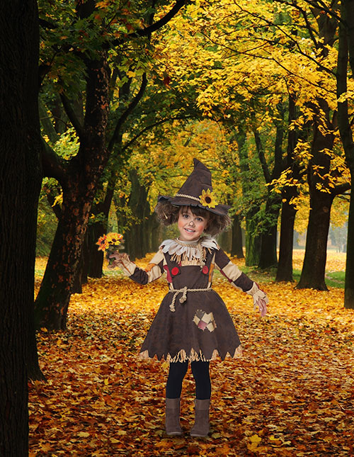 Scarecrow Costume for Toddler