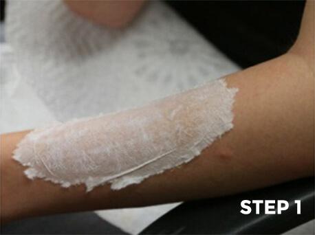Peeling Scorched Skin Makeup Tutorial - Step 1