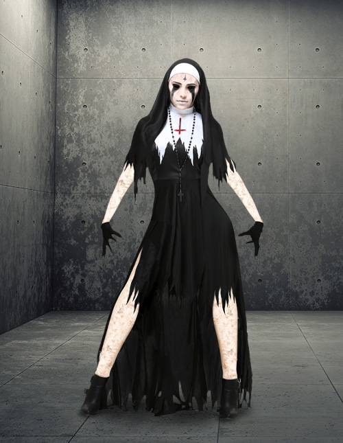 Scary Nun Costume