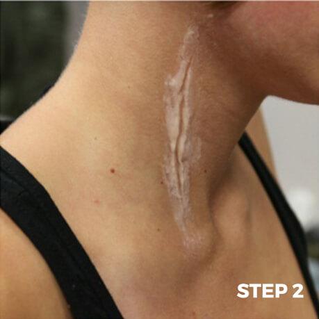 Face Cut Makeup Tutorial - Step 2