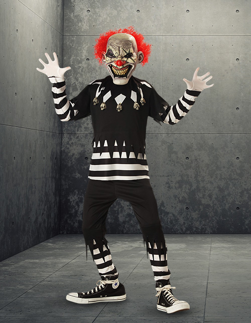 Boys' Scary Clown Costume