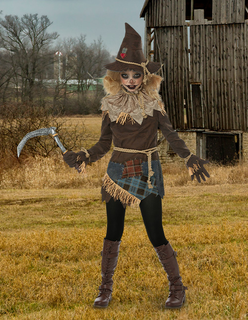 Girls' Scarecrow Costume