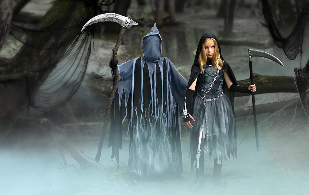 Kids' Grim Reaper Costumes