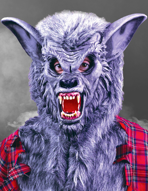 Scary Wolf Mask