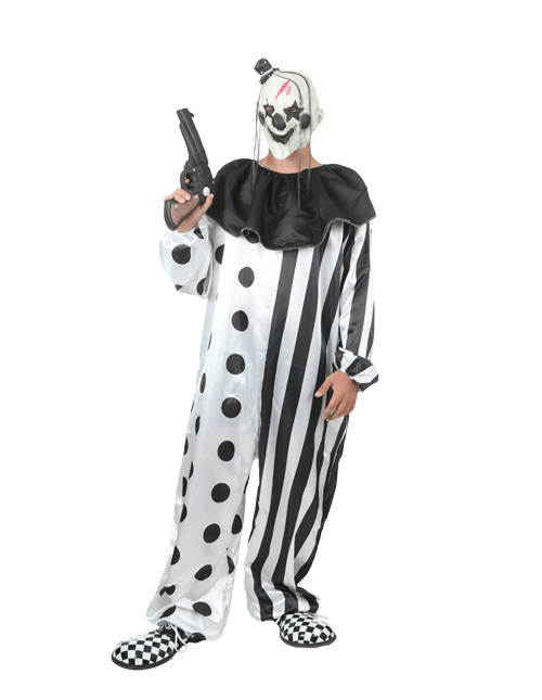 Scary Killer Clown Costume