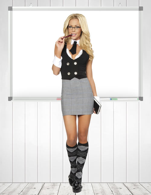 Sexy Teacher Costume