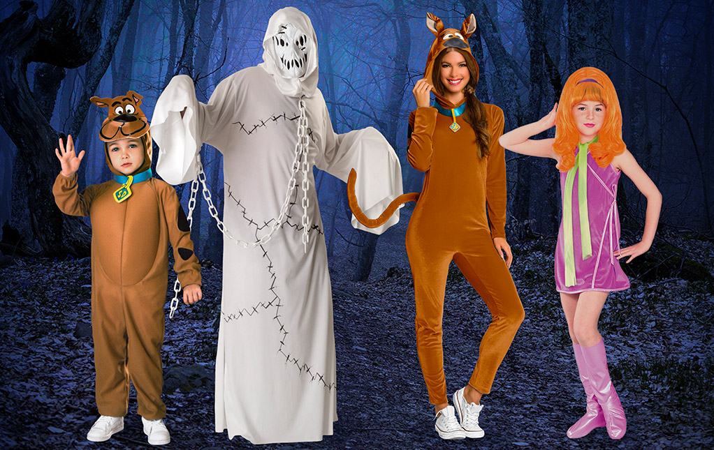 Scooby-Doo Family Costume Ideas