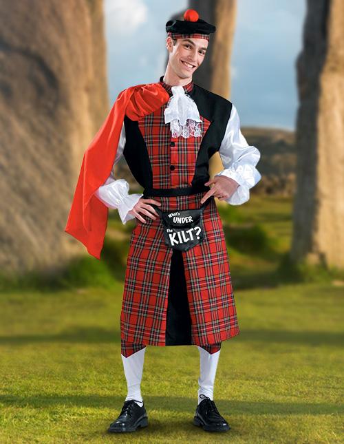 Scottish Halloween Costume