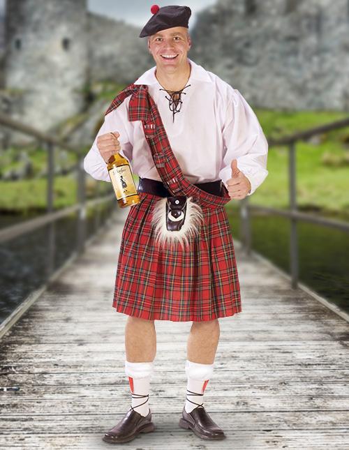 Scottish Highlander Costume