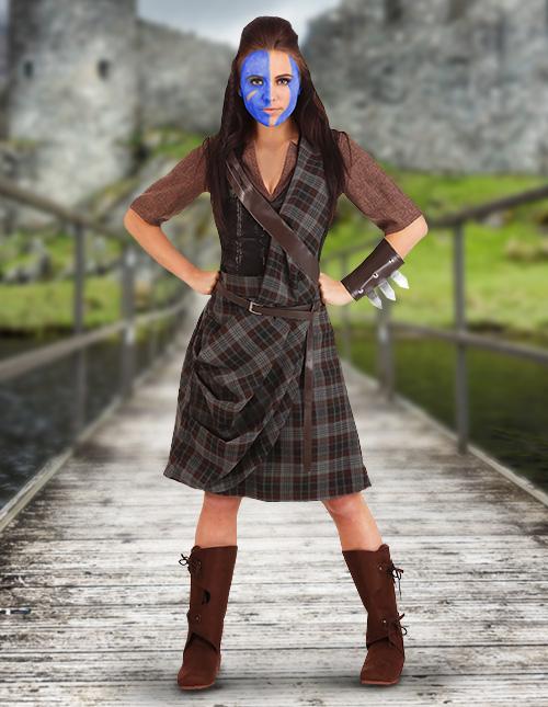 Scottish Women's Costume