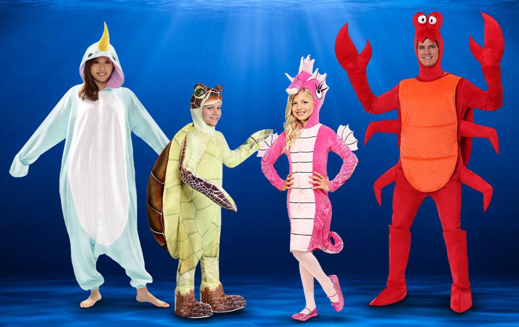 Sea Creature Costumes
