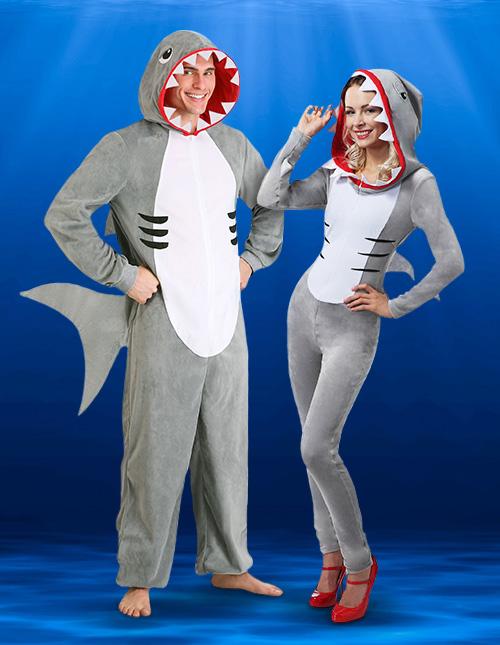 Shark Costume Adult