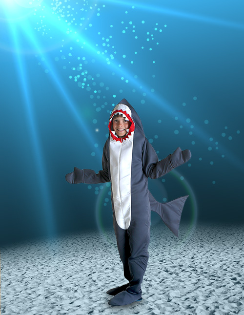 Boys' Shark Costume