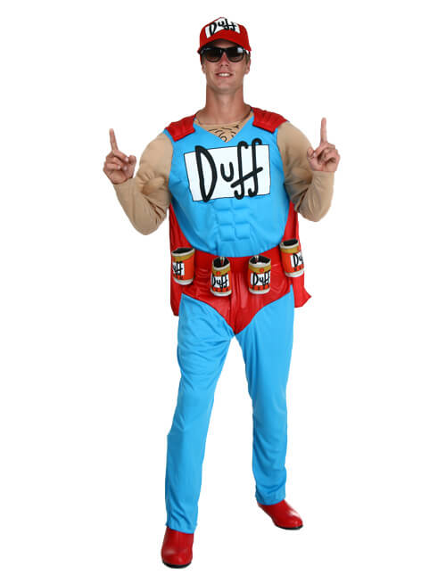 Duffman is Here to Refill Your Beer Pose