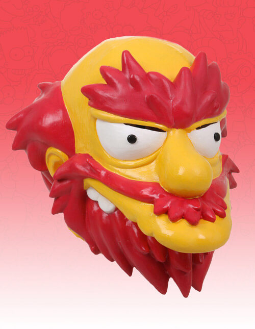 Groundskeeper Willie Mask