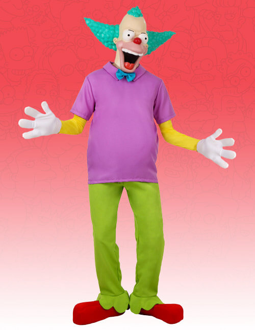 Krusty The Clown & Simpsons Costumes - Simpsons Character Costumes and Masks