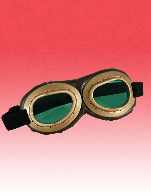 Gold Avaitor Goggles