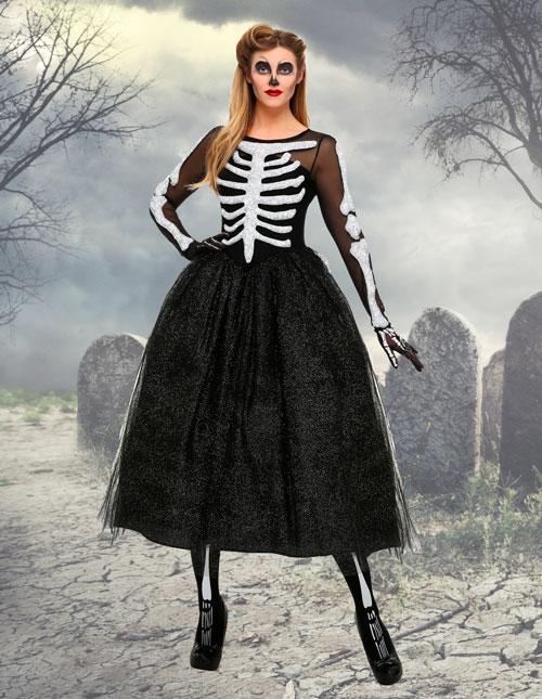 Women's Skeleton Costume
