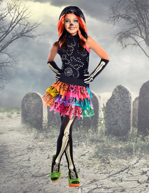 Skelita Costume