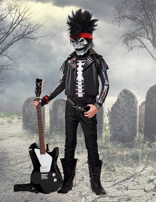 Boys Skeleton Costume