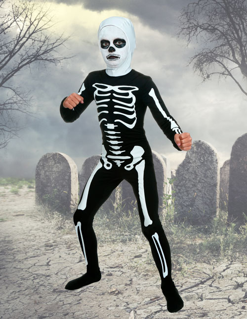Karate Kid Skeleton Costume