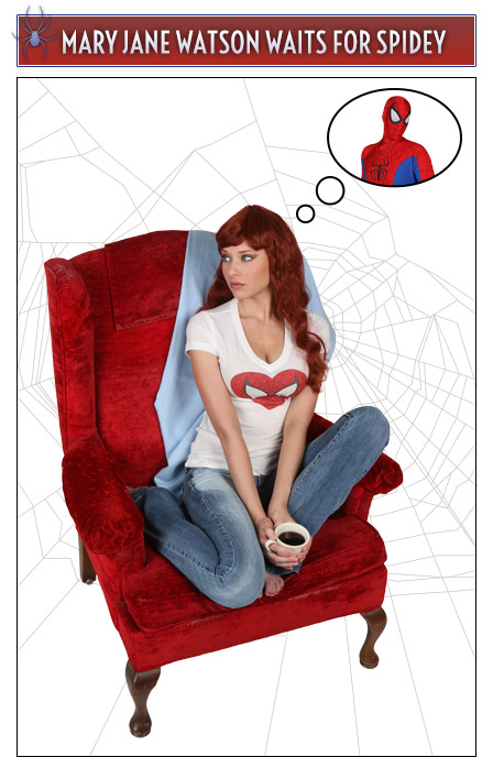 Mary Jane Watson and Spider-Man Couple Idea