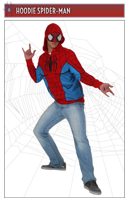 Spider-Man Costume Hoodie