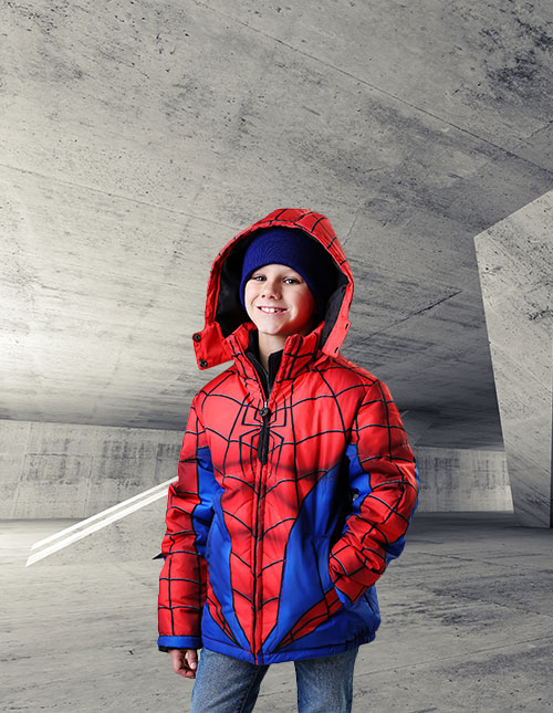 Kids' Spider-Man Jacket